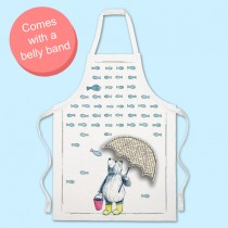 Raining Fish Apron