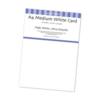 White Card 225gsm 22 Sht product image