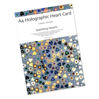 Hearts Holographic Card 6 Shee product image