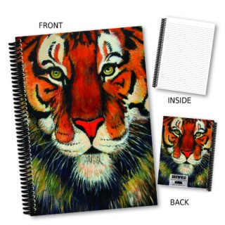 Tiger Coil Notebook product image