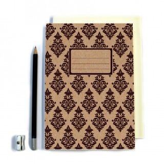 Black Patterned Notebook product image