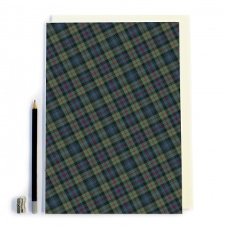 Blue/Red Tartan Notebook product image