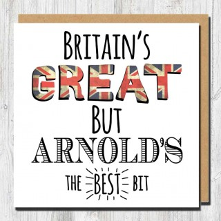 Britains Great Greeting Card product image