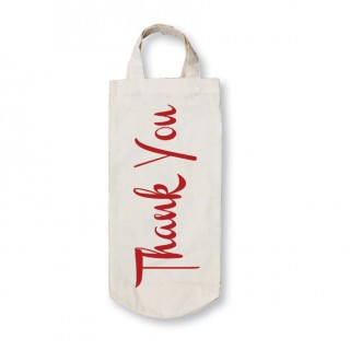 Cotton Bottle Bag-Thank You product image