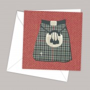 Kilt Greeting Card
