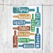 Chin Chin Tea Towel & Tag