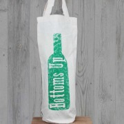 Cotton Bottle Bag-Chin Chin