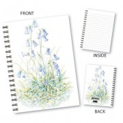 Bluebell Design Wiro Notebook