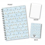 Summer Floral Wiro Notebook