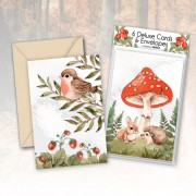 Deluxe Forest Animals Cards (6)