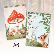 Recycled Notepad-Forest Animals